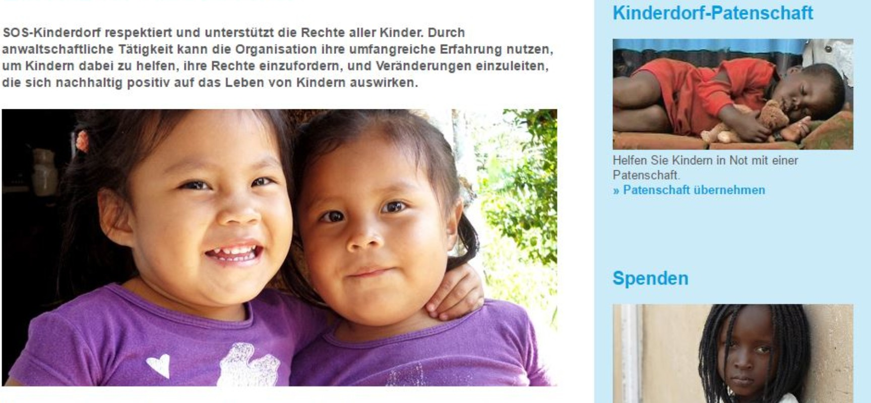 Kinder sind unsere Zukunft: