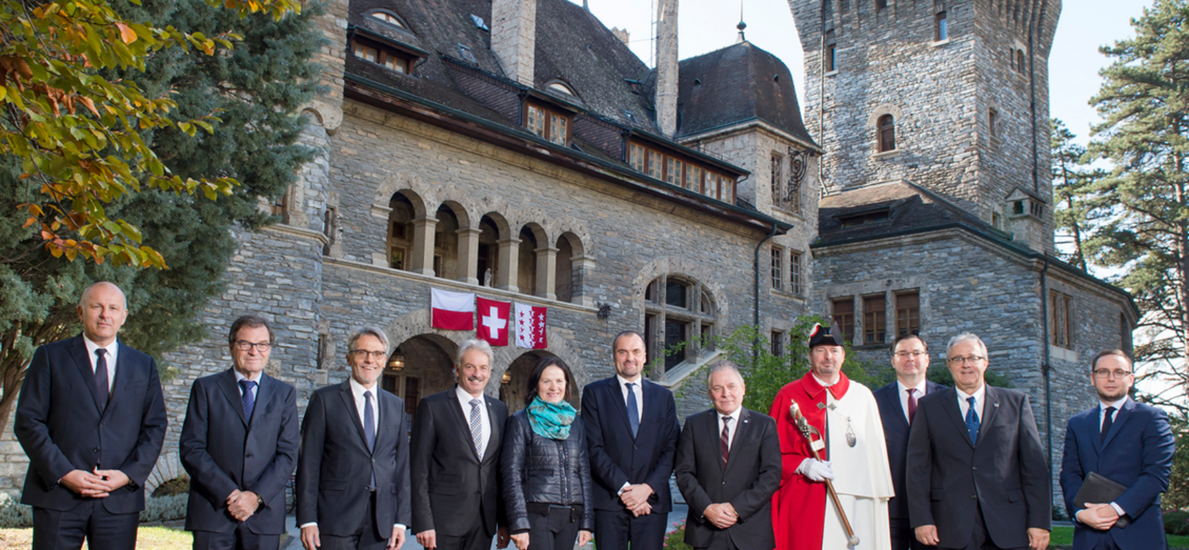 Offizieller Besuch des polnischen Botschafters im Wallis