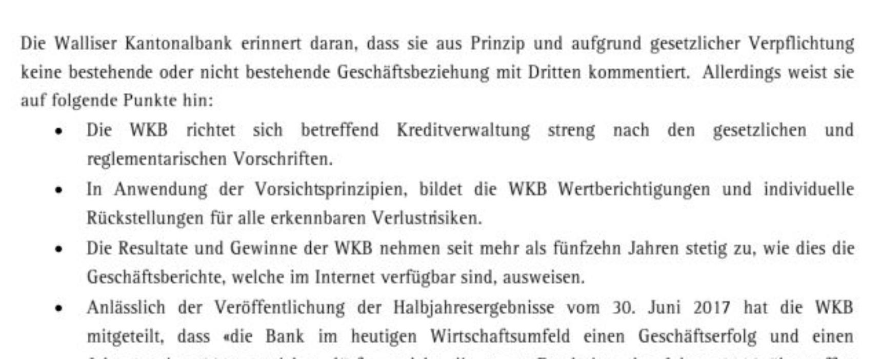Rücktritt des Präsidenten der Walliser Kantonalbank – Kriegt auch das Wallis einen Fall Pierin Vincenz?