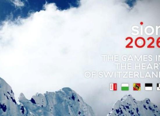 Kandidaturprojekt für die Olympischen Spiele Sitten 2026