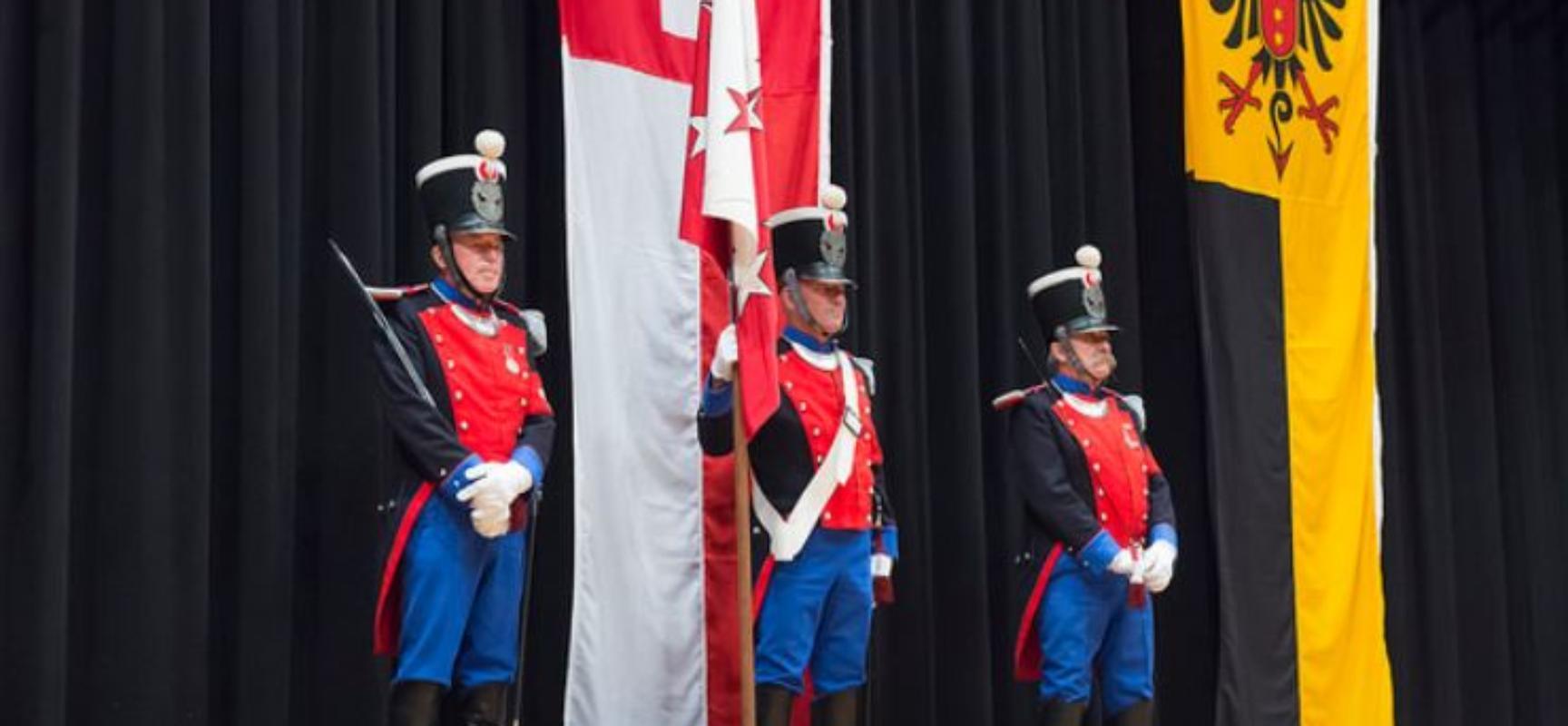 Vereidigung von 916 neuen Wallisern