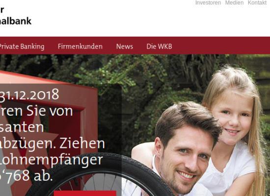 Walliser Kantonalbank mit Strafanzeige gegen ehemaligen Präsidenten