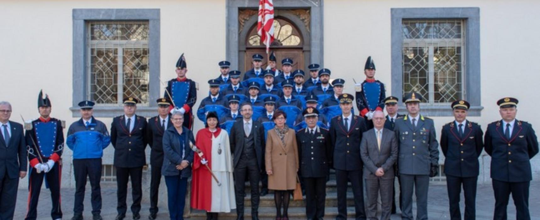 Kantonspolizei Wallis mit Verstärkung